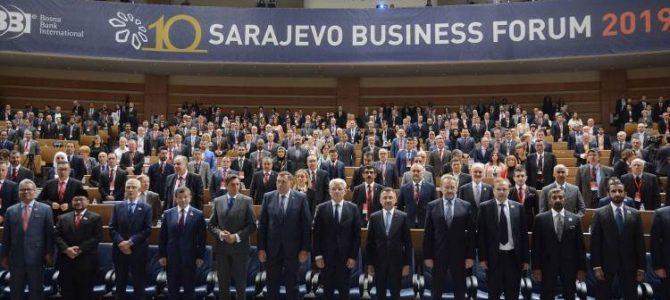 Svečano otvoren Sarajevo biznis forum 2019. (SBF)