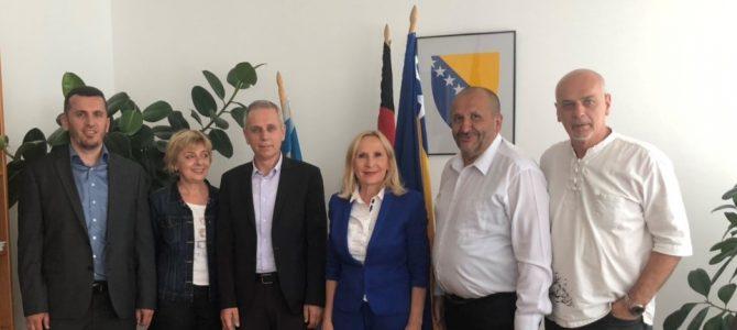 Posjeta dr.Osmana Kozlića, muftije Islamske zajednice Bošnjaka za Evropu Generalnom konzulatu u Minhenu
