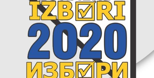 Lokalni izbori 2020. – Obavještenje za birače