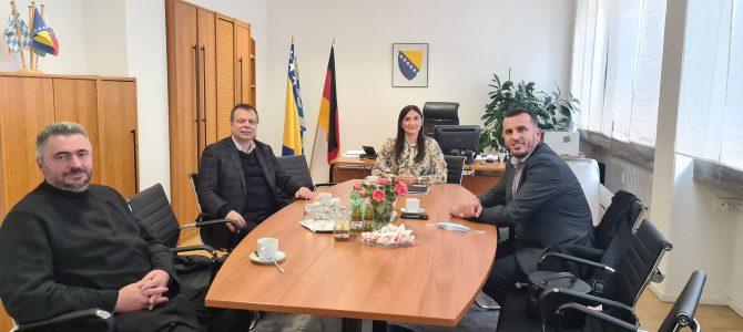 Sastanak generalne konzulice BiH Vere Sajić sa predstavnicima vjerskih zajednica