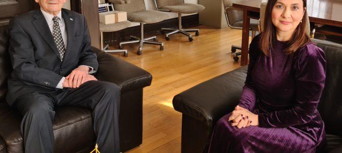Generalna konzulica BiH u Minhenu Vera Sajić razgovarala je danas sa generalnim konzulom Republike Srbije u Minhenu Božidarom Vučurovićem
