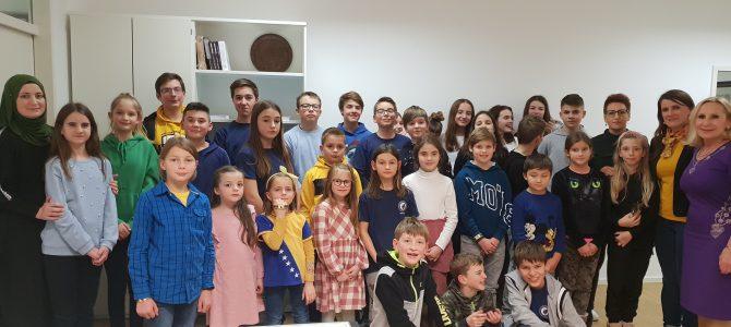 Učenici i nastavnici dopunskih škola u Generalnom konzulatu Bosne i Hercegovine u Minhenu